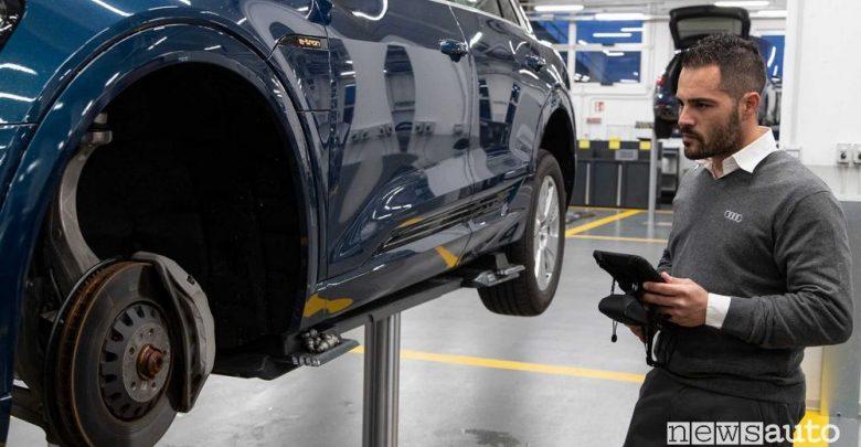 Service/manutenzione Audi nell'officina di Bologna
