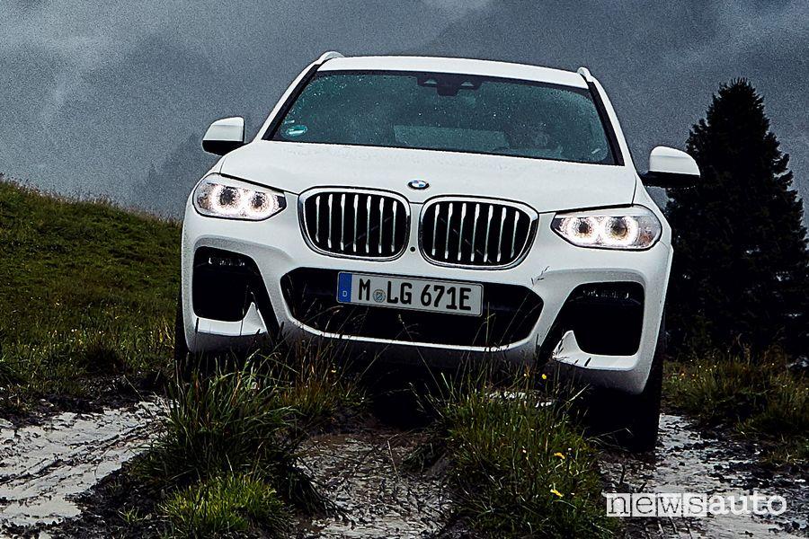 Paraurti anteriore BMW X3 xDrive 30e ibrida plug-in