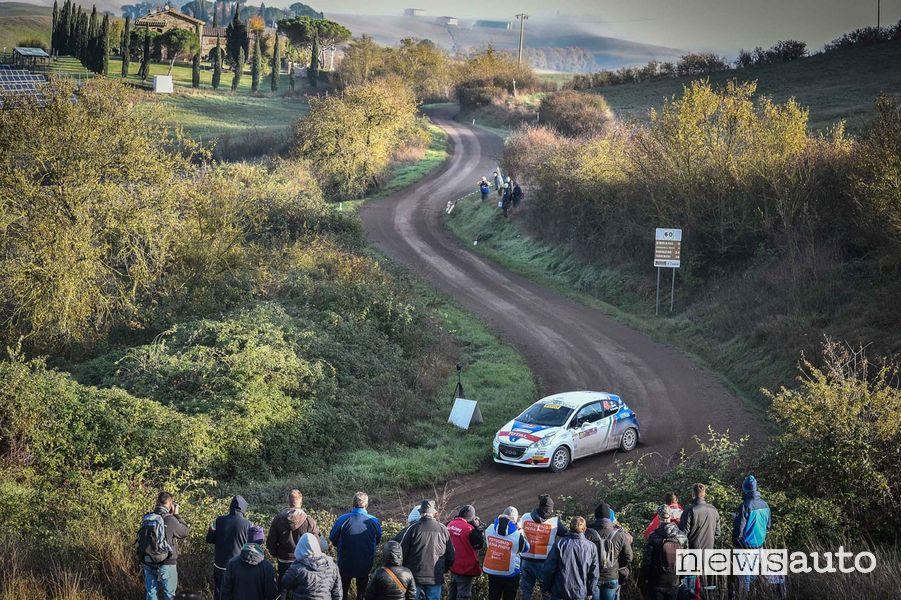 CIR 2019 Tommaso Ciuffi Peugeot 208 R2 al Tuscan Rewind