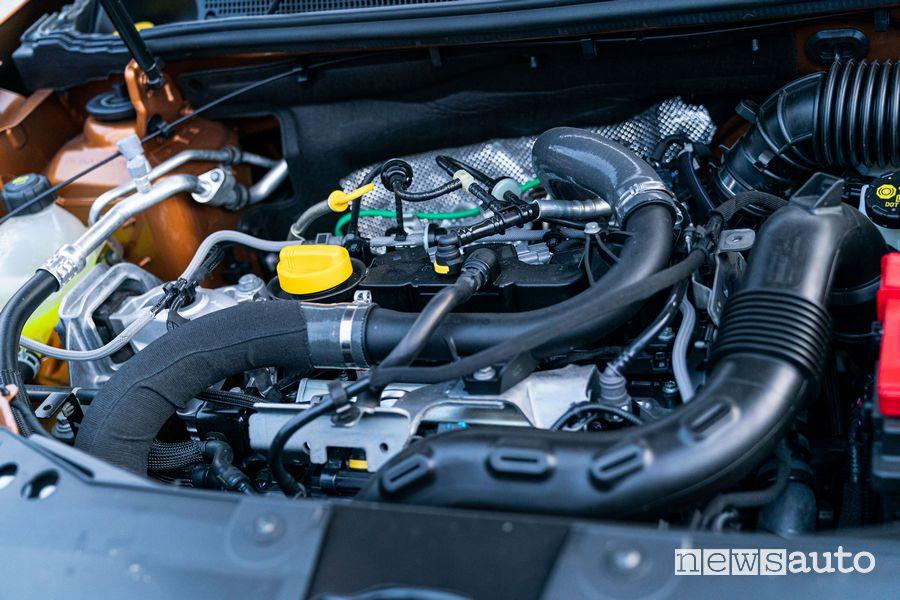 Vano motore benzina TCe 100 Dacia Duster