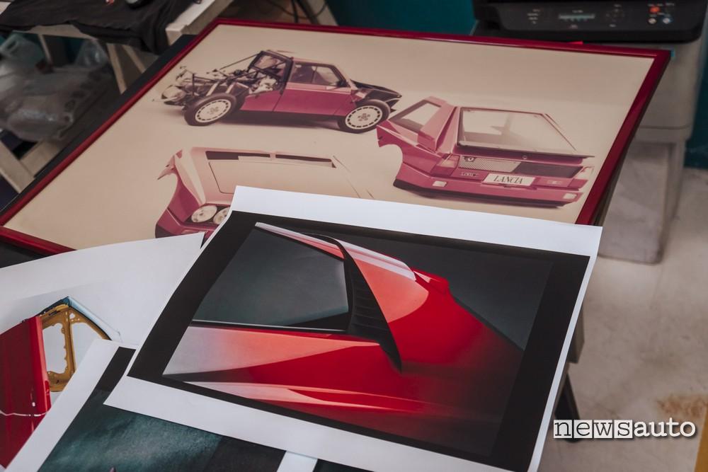 Evoluzione GT e disegni Lancia Delta S4