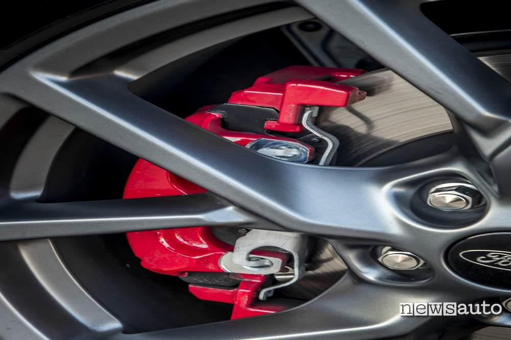 pinza anteriore freni Ford Focus ST 2019