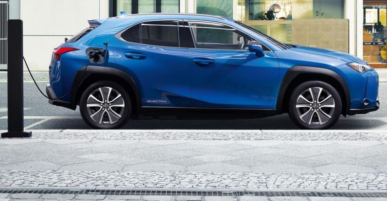 Ricarica da wallbox Lexus UX 300e