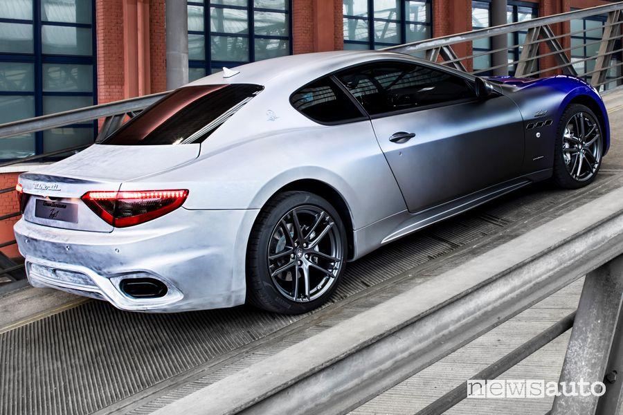 Scarico, vista posteriore Maserati GranTurismo Zéda