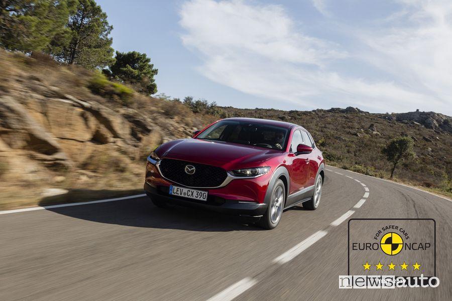 Mazda CX-30 % stelle crash test Euro Ncap 2019