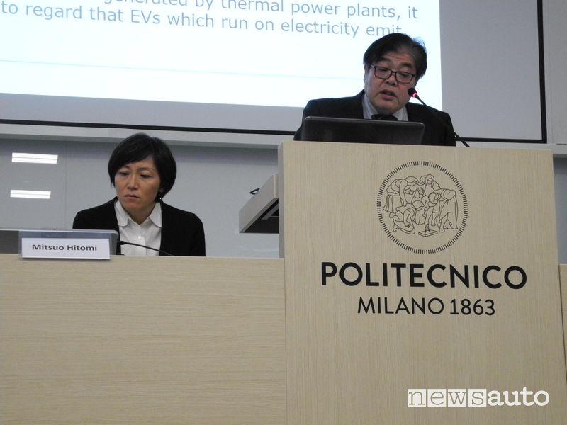 Mitsuo Hitomi, Senior Innovation Fellow di Mazda intervento al convegno del Politecnico di Milano