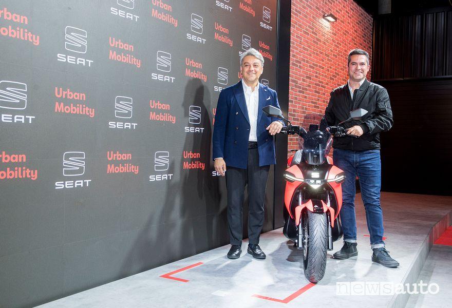 Seat presenta e-Scooter 2020, il suo primo scooter elettrico
