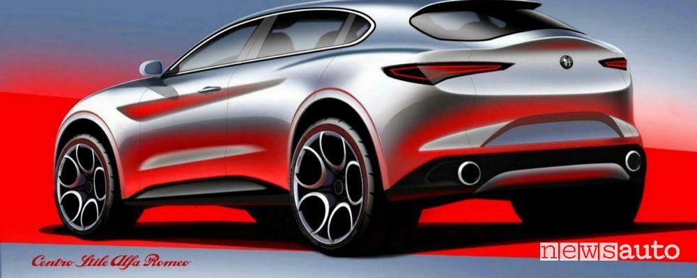 Alfa Romeo Brennero anche elettrica