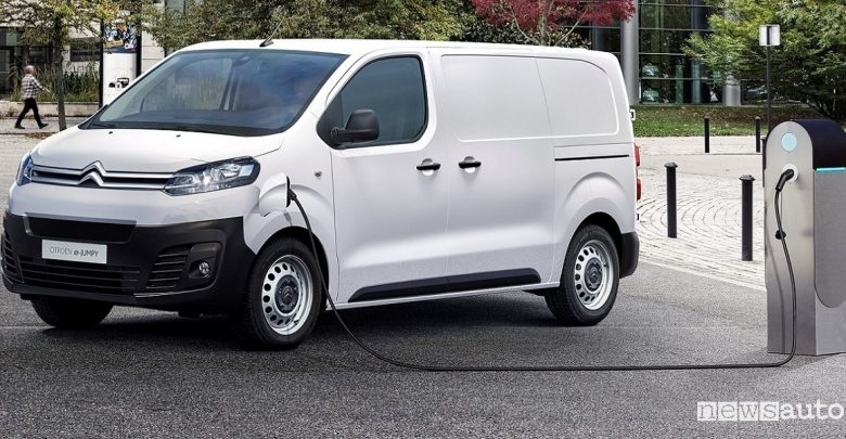 Furgoni elettrici Citroën, Jumpy elettrico