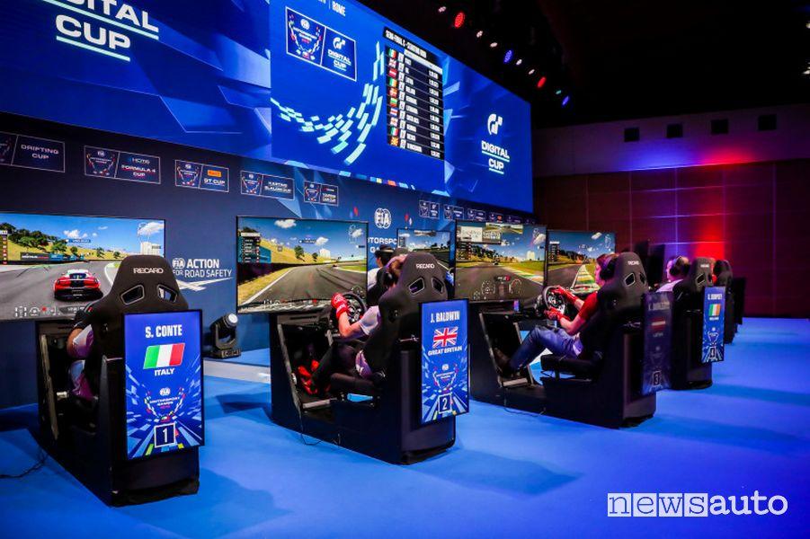 Finale Digital Cup FIA Motorsport Games Vallelunga 2019