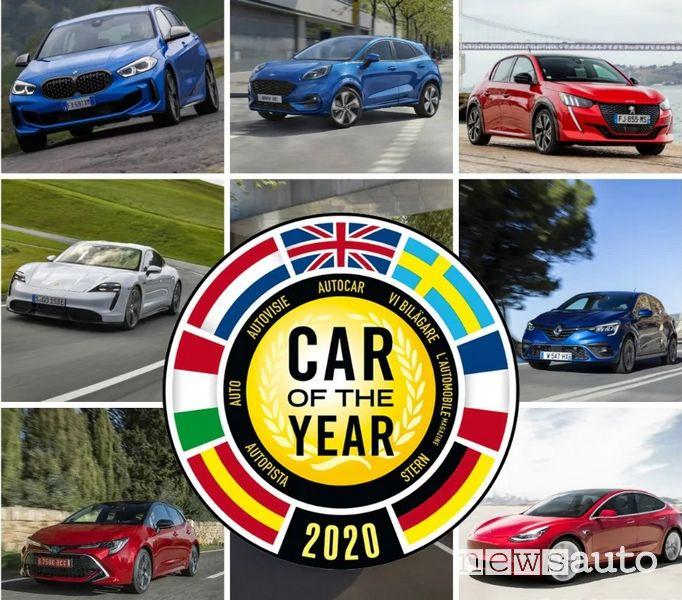 finaliste Premio Auto dell'Anno 2020