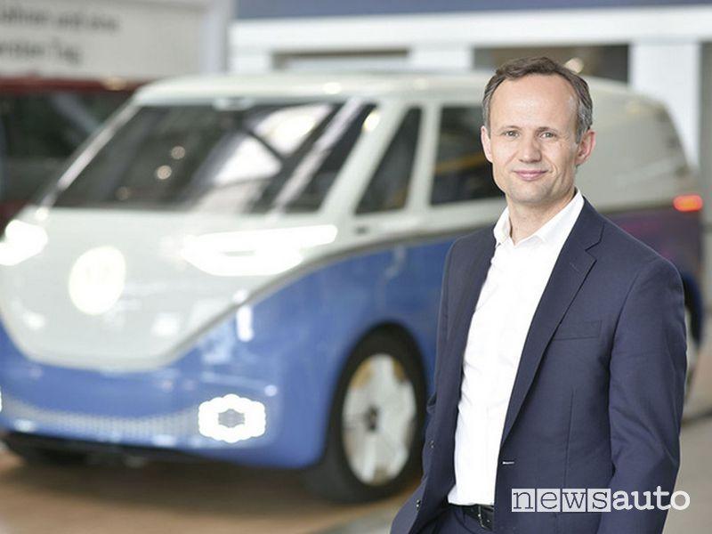 Alexander Hitzinger, direttore Volkswagen Autonomy
