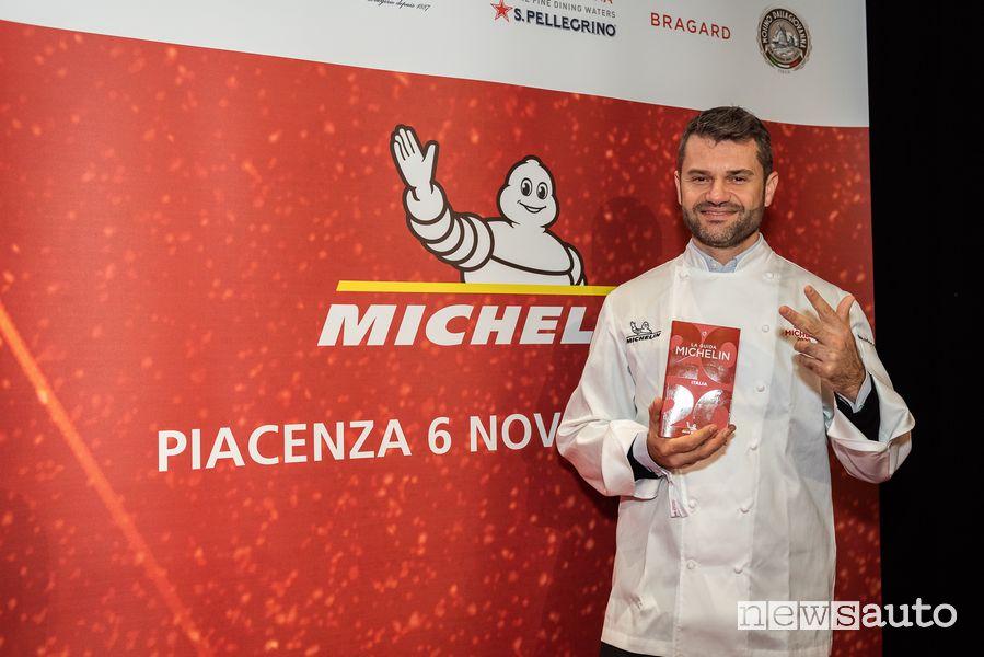 Chef Enrico Bartolini Tre stelle Guida Michelin 2020