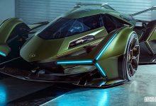 Photo of Lamborghini Lambo V12 Vision, auto virtuale per Gran Turismo su PlayStation