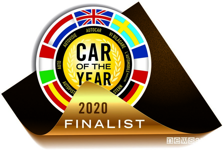 Logo Premio Auto dell'Anno 2020