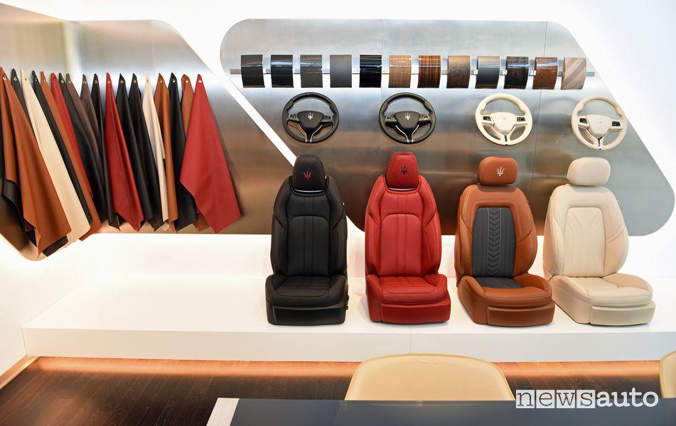 Area personalizzazione shoowroom Al Tayer Motors Maserati a Dubai