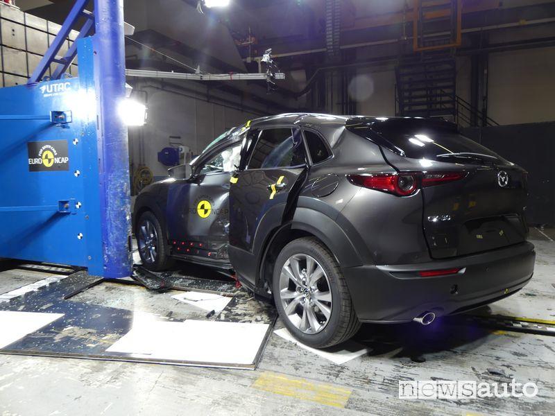 Mazda CX-30 Crash Test 2019 urto laterale