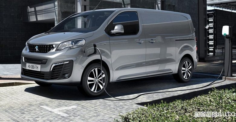 Peugeot e-Expert, furgone elettrico