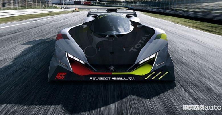 Peugeot alla 24 Ore di Le Mans 2022 con Rebellion Racing