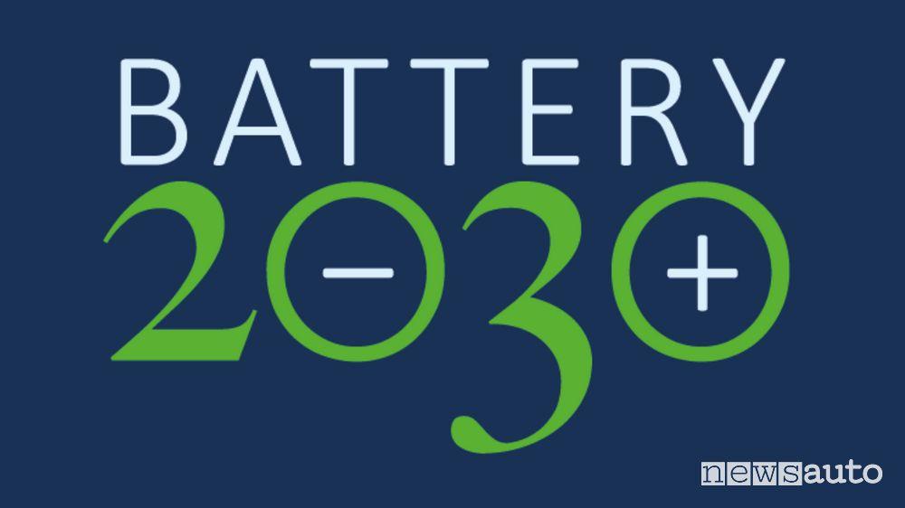 Logo Progetto Battery 2030+