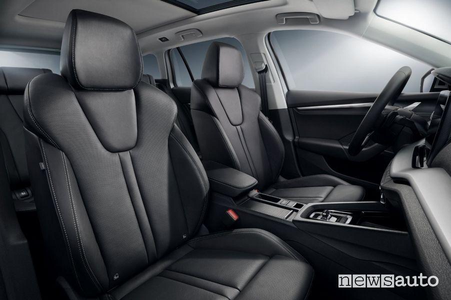 Interni, sedili anteriori Škoda Octavia Wagon 2020
