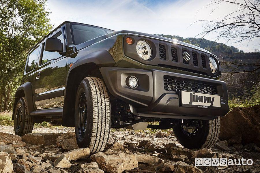 Protezioni impiego in off road per il Suzuki Jimny