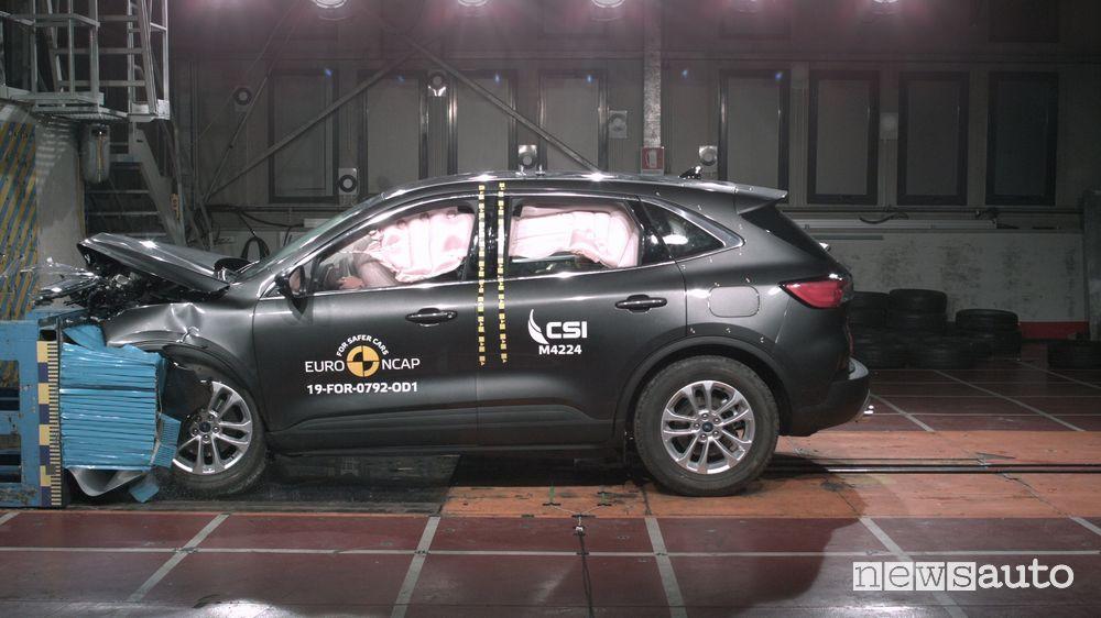 Crash Test Euro NCAP 2019 Ford Kuga
