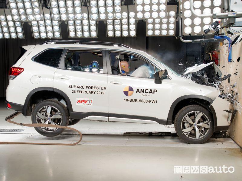 Crash Test Euro NCAP 2019 Subaru Forester