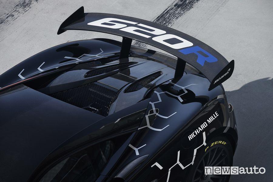 Spoiler posteriore McLaren 620R