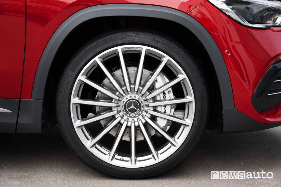 """Cerchi in lega da 21"""" Mercedes-AMG GLA 35 4MATIC"""