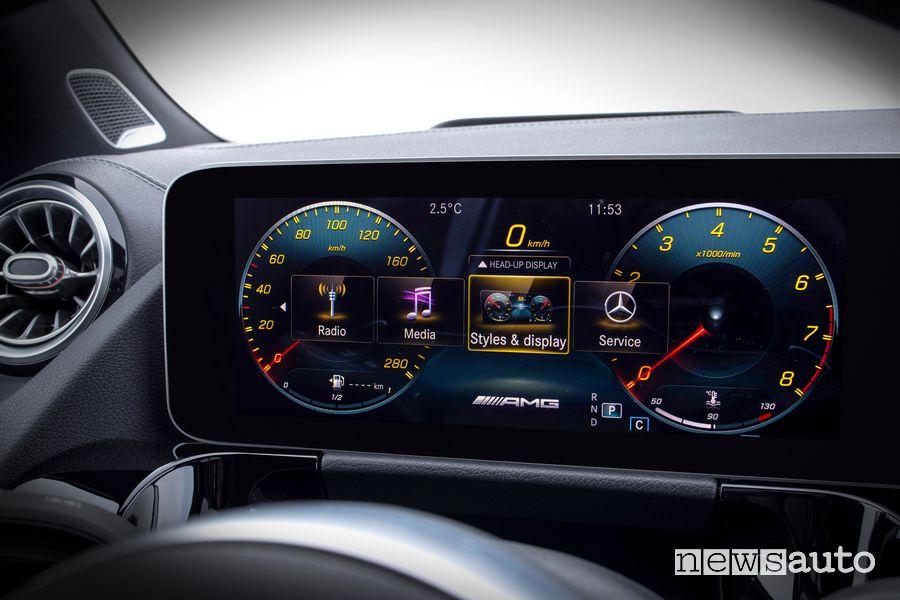 Display quadro strumenti Mercedes-Benz GLA 2020