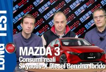 Photo of Mazda 3 prova comparativa, test consumi reali diesel benzina ibrido X