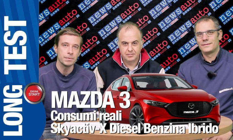 Mazda3 LONG TEST 2019 Consumi reali puntata finale