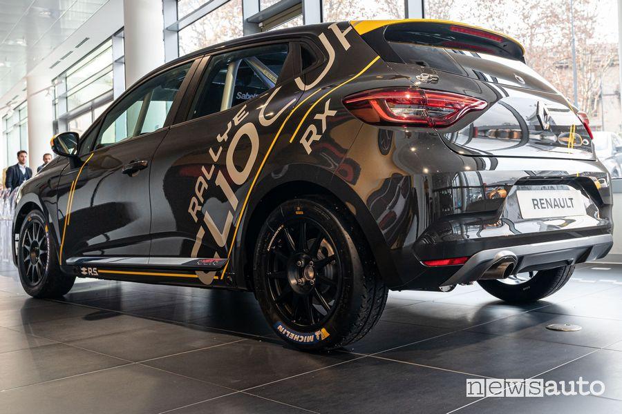 Vista posteriore Renault Clio Rally R5