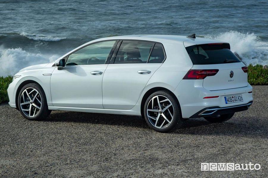 Volkswagen Golf 8 TGI omologazione monovalente a metano