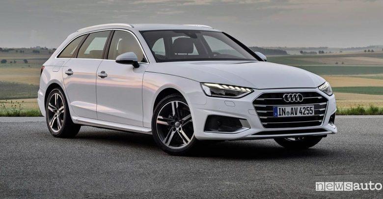 Audi A4 Avant a metano g-tron