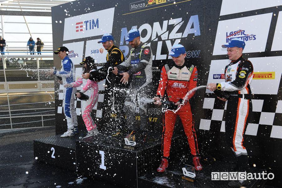 Podio Monza Rally Show 2019