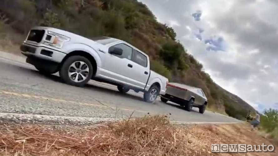 sfida ford tesla pickup twitter contro Ford F-150