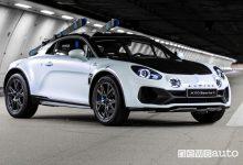 Photo of Alpine A110 SportsX, auto sportiva con assetto rialzato