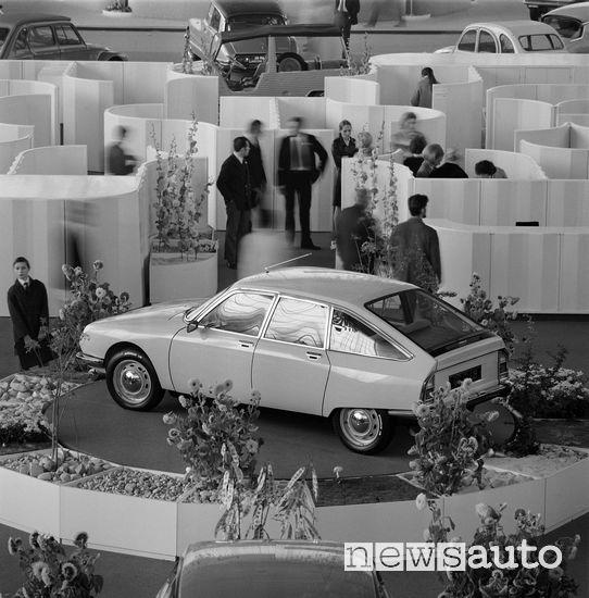 Citroën GS al Salone di Ginevra 1970