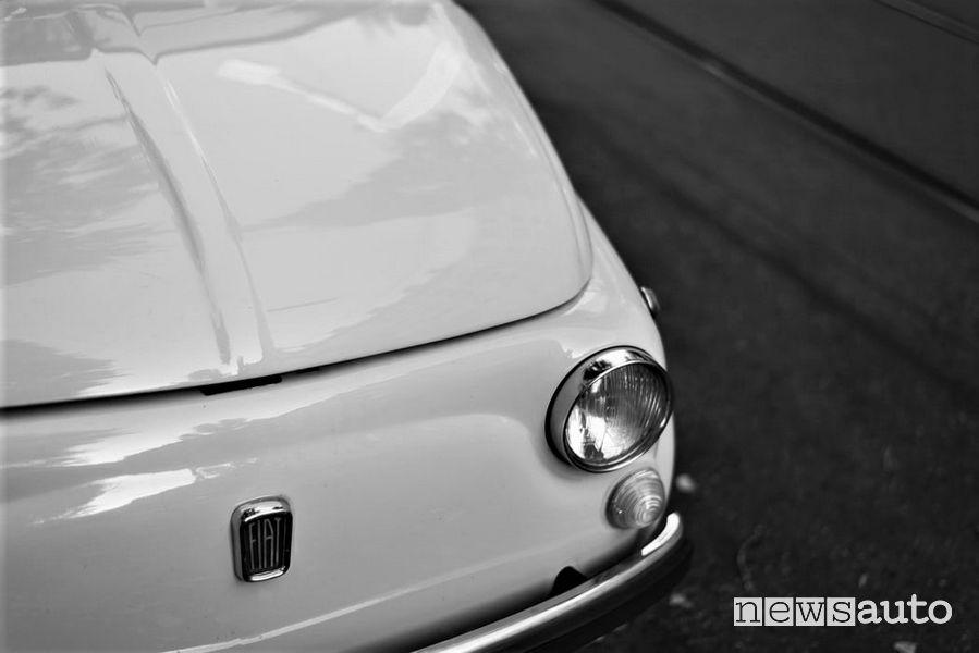 Fiat 500 B del 1948 nella Dolce Vita di Federico Fellini