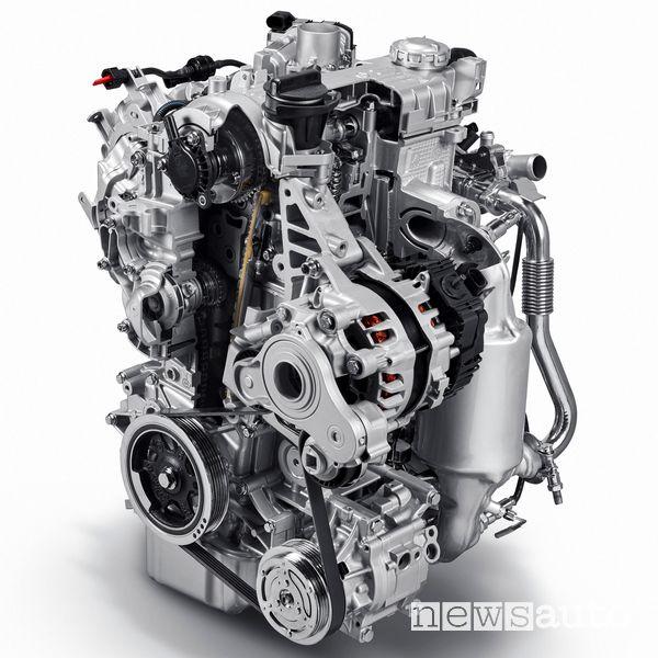 Motore Fiat Mild Hybrid a benzina 1 litro, 3 cilindri