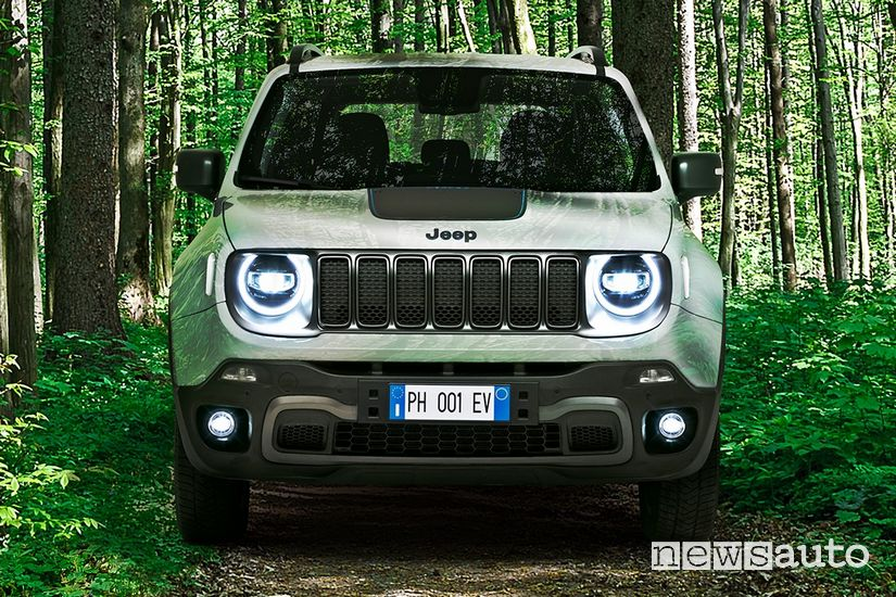 Frontale Jeep Renegade 4xe Off Road