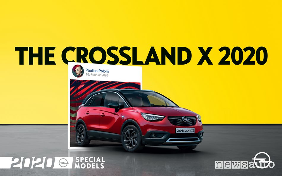 """Opel 2020"" Crossland X versione speciale"