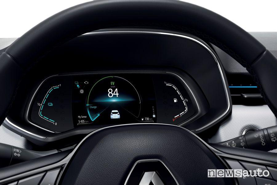 Quadro strumenti Renault Clio E-TECH