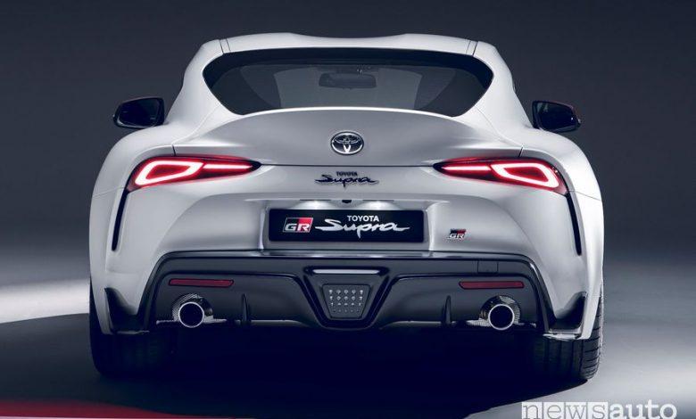 Scarico sportivo Toyota Supra GR 2.0 turbo