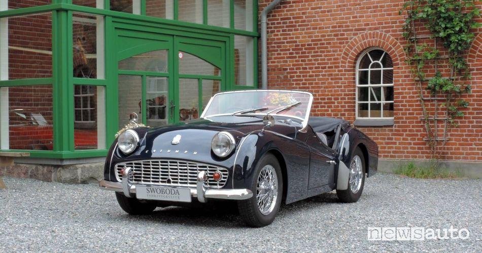 Triumph TR3 del 1958 Dolce Vita