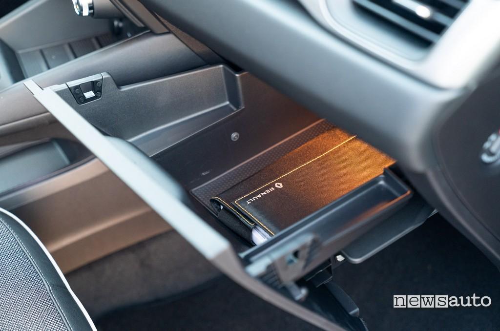 Cassetto porta oggetti Renault Captur 2020