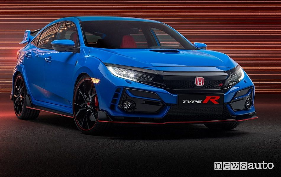 Honda Civic Type R 2020 colore blu