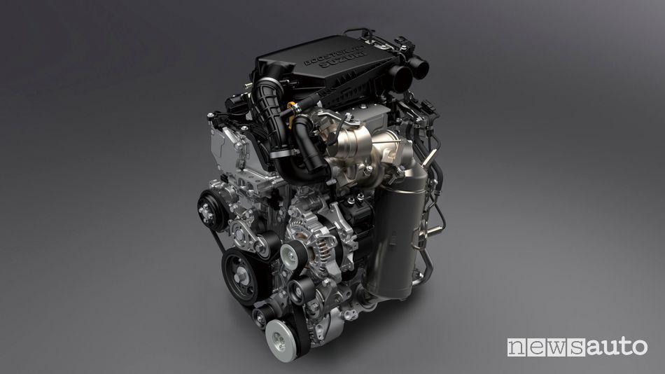 sistema ibrido Suzuki Hybrid MHEV 1.4 Boosterjet